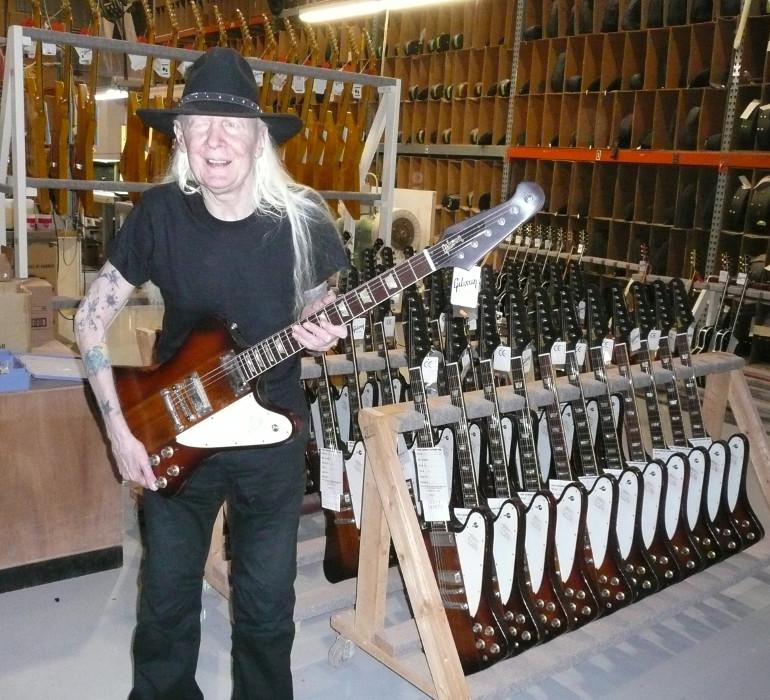 Gibson Firebird V Johnny Winter The Guitar Slinger